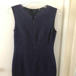 Purple Tahari Dress